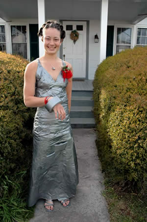 Duct Tape Dress Debut
