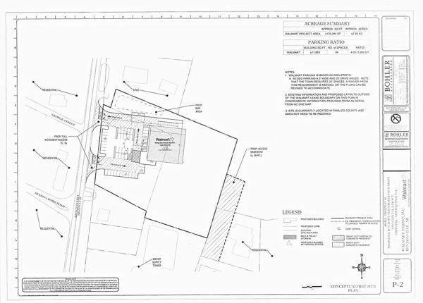 walmart conceptual layout