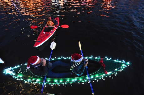 lighted kayak