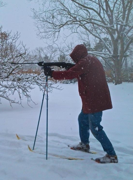 snow biathalon