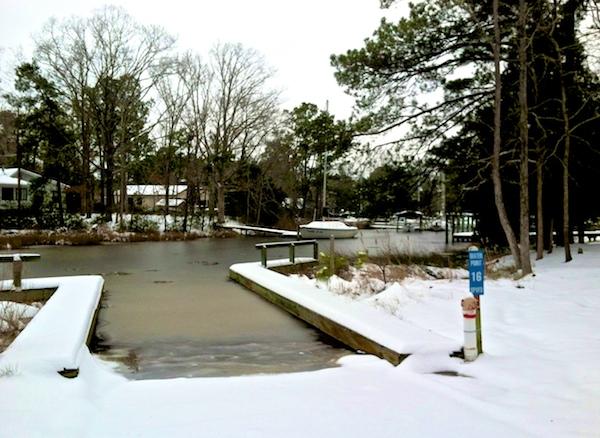 snow pierce creek boat ramp jim barton