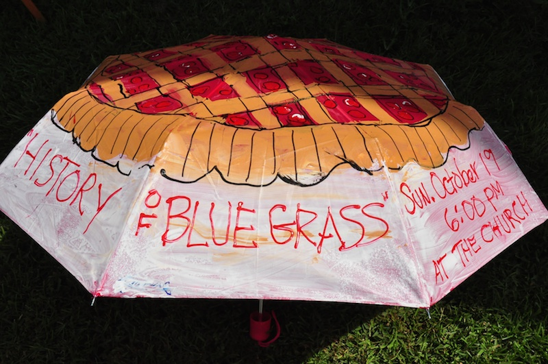 history bluegrass umbrella
