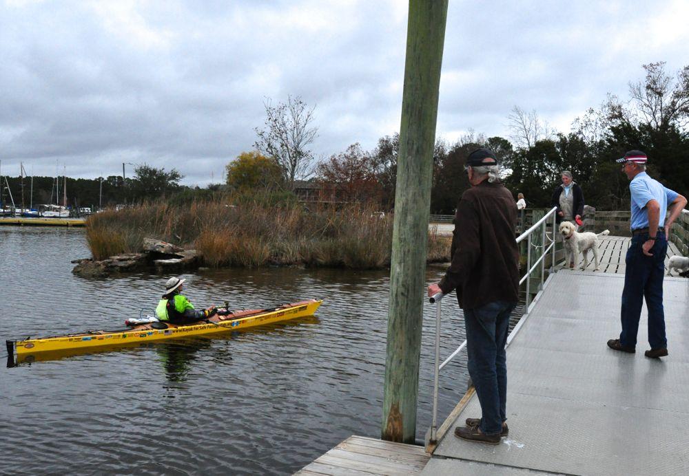 deb walters kayak arrival oriental