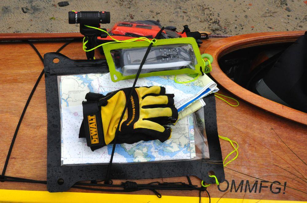 deb walters kayak camera map glove