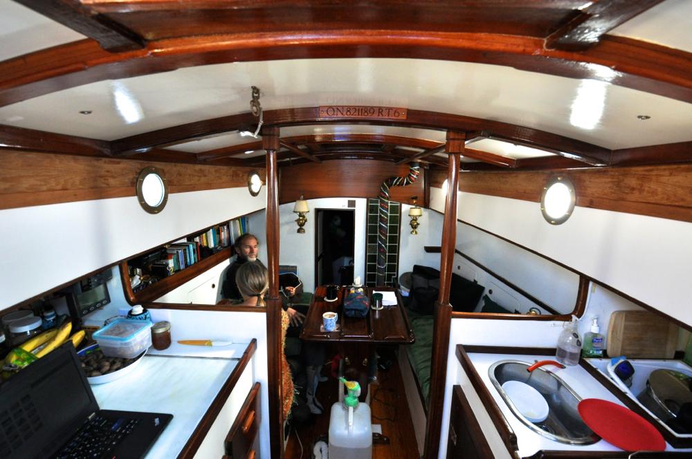 bika heard 28 sailboat nina kristin nilsen henrik nor hansen interior