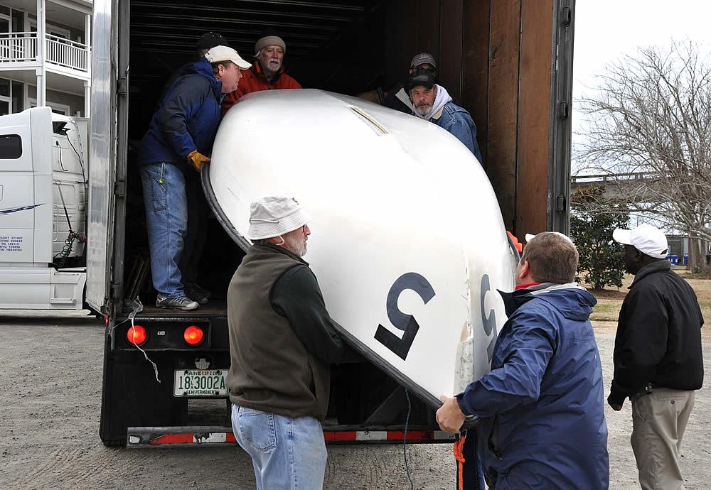 fj unloading