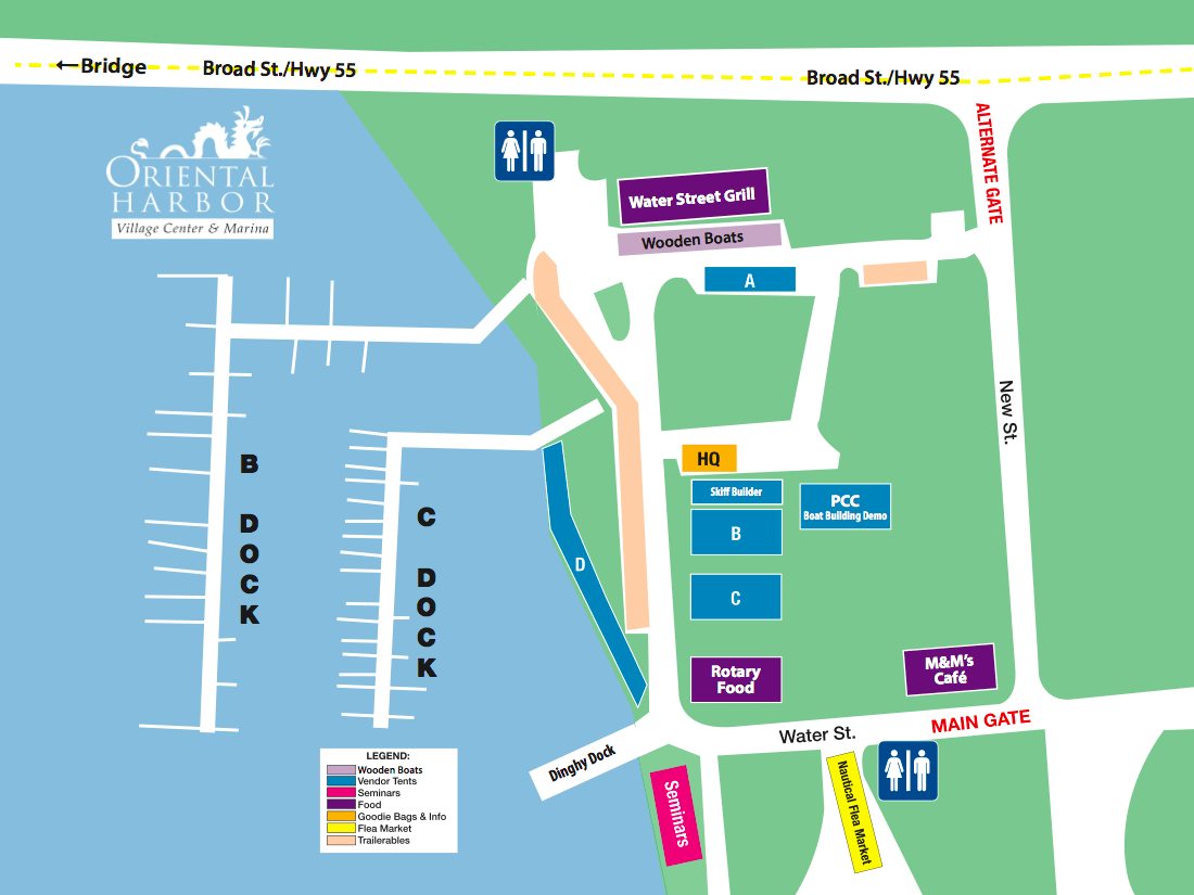 boat show layout
