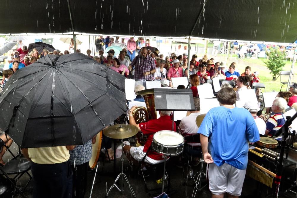 croakerfest rain