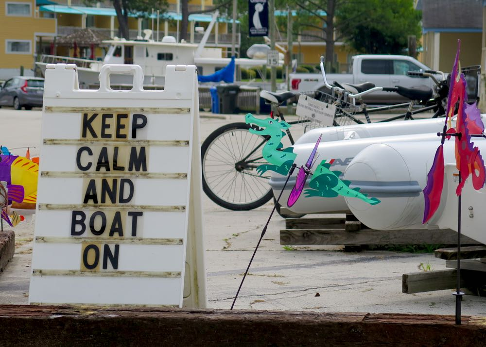 keep calm and boat on