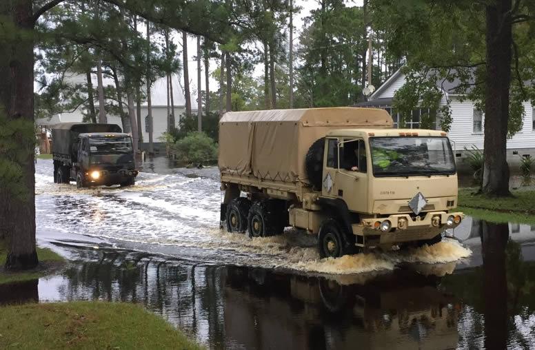national guard trucks