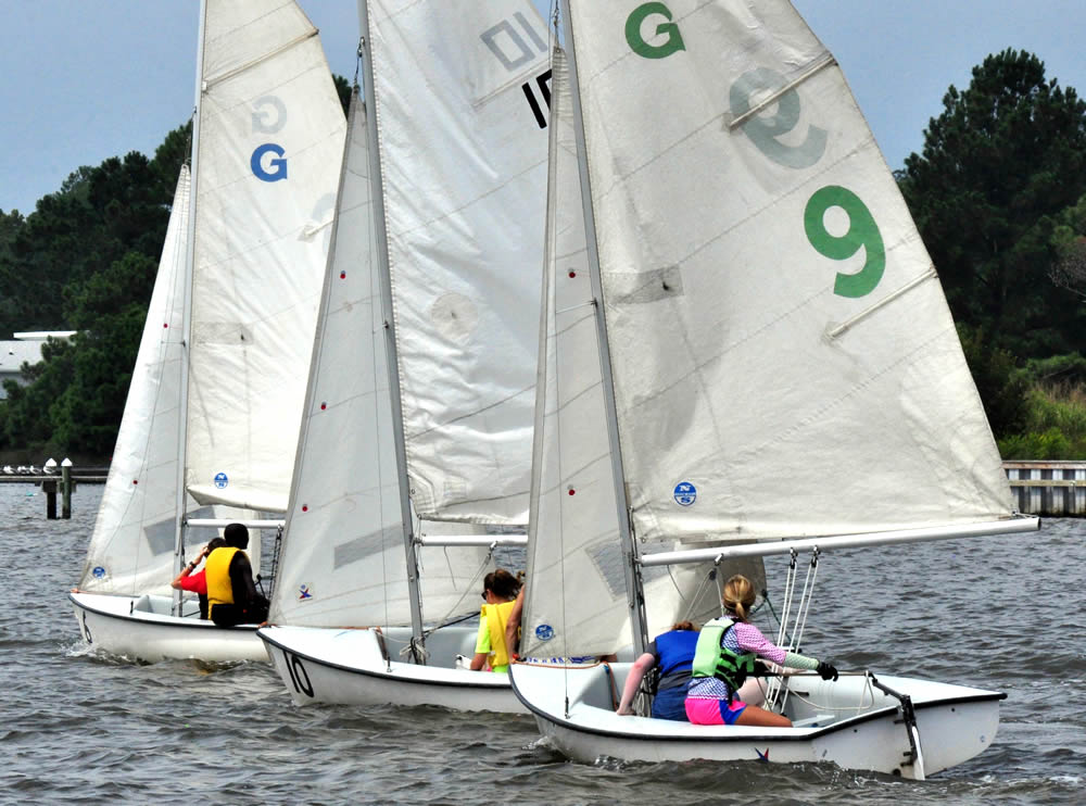 pamlico high sailing team