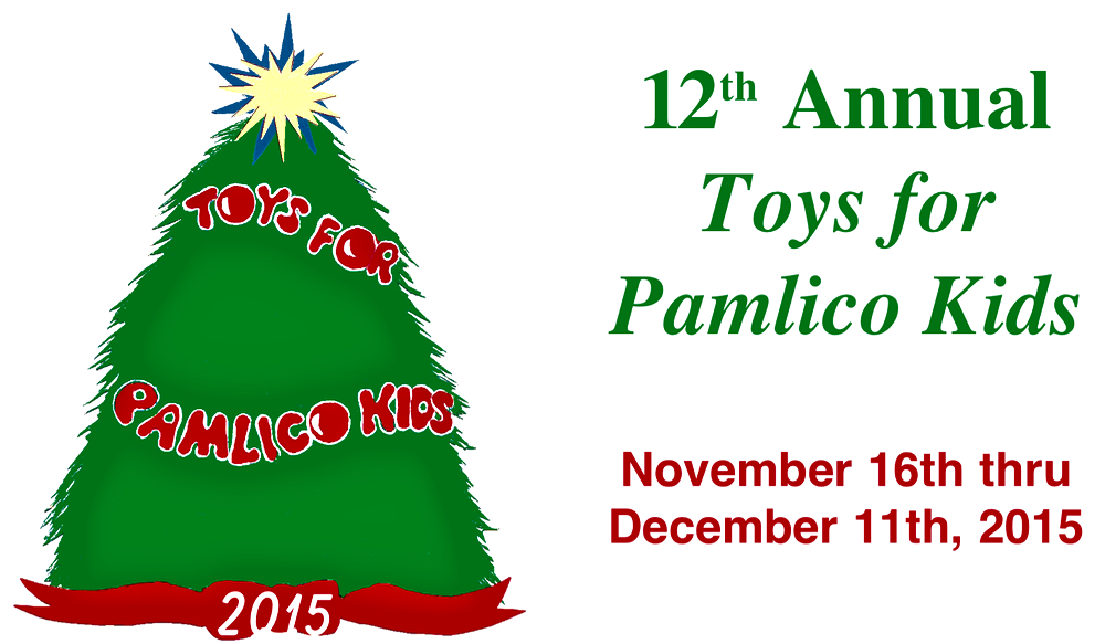 Toys For Pamlico Kids