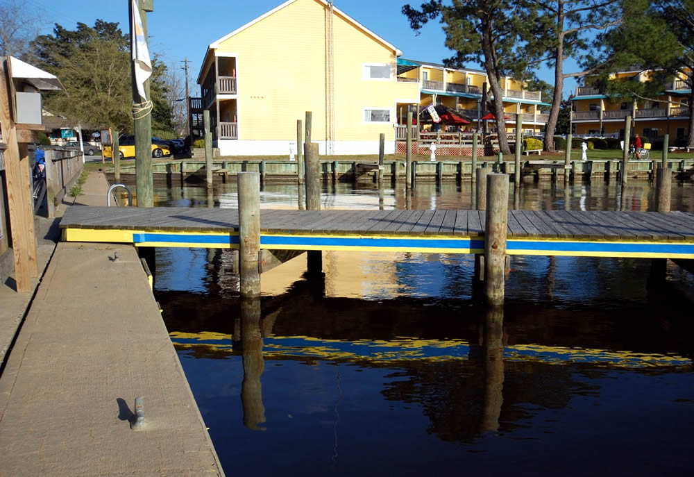 Town Dock painted