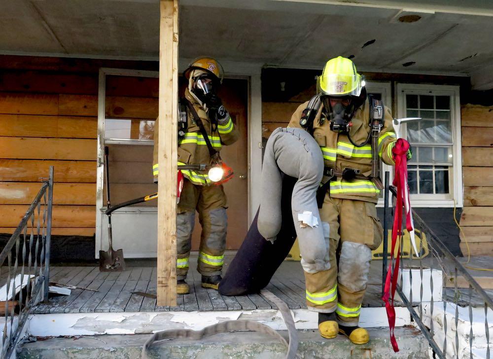 delamar fire training