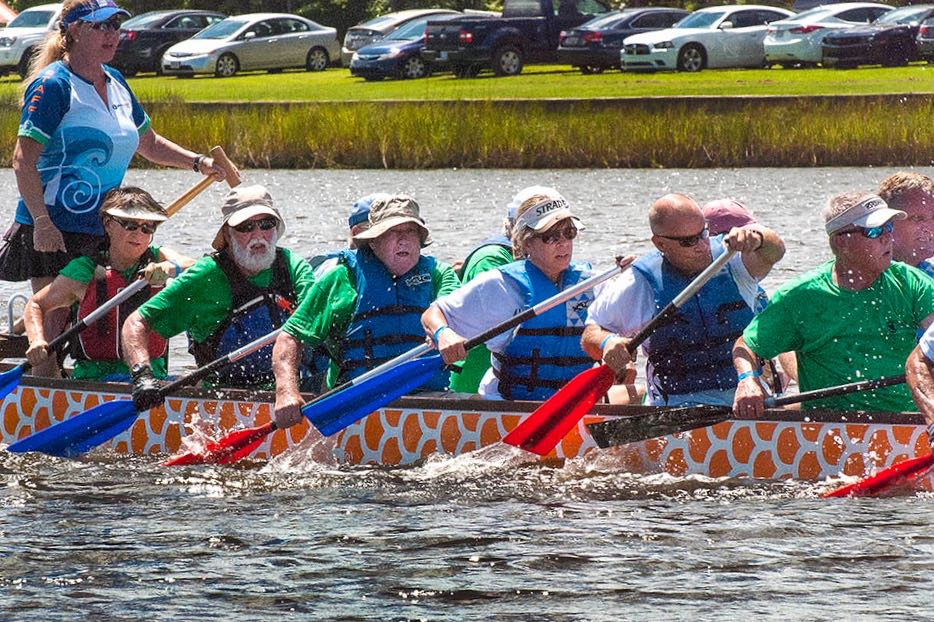 dragon boat race intensity
