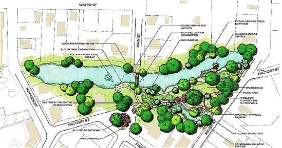 duck pond plans rh towndock net Koi Pond Bottom Drain Concrete Pond Design