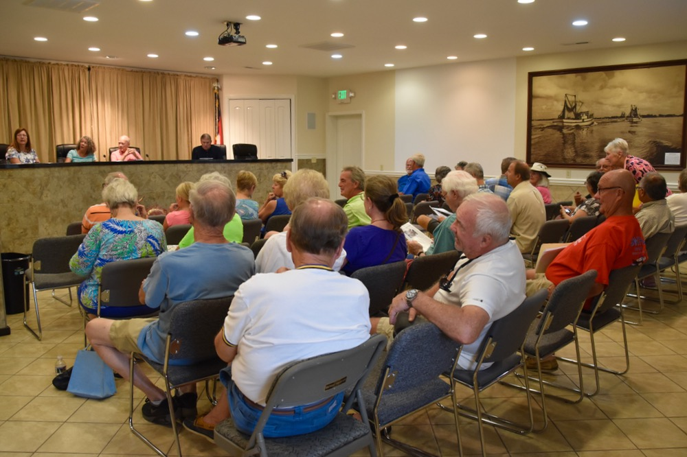 The Public Comments at Town Hall