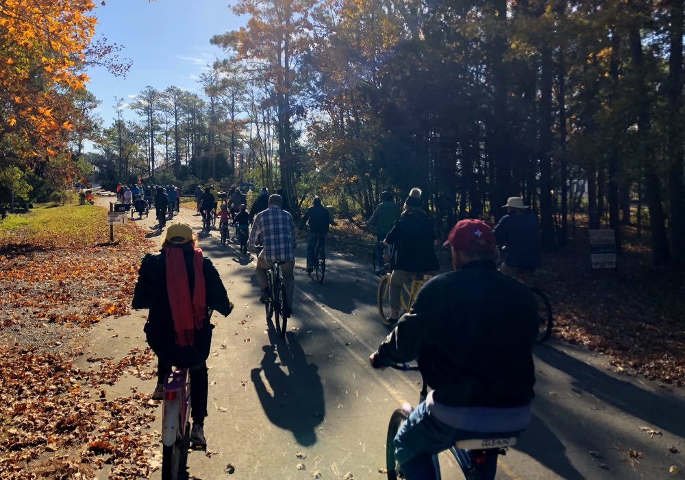 Thanksgiving Day Bike Ride