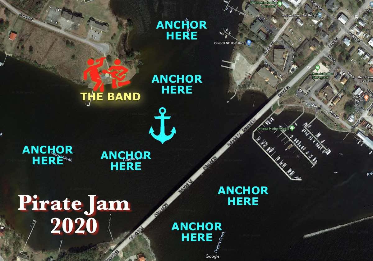 Pirate Jam map