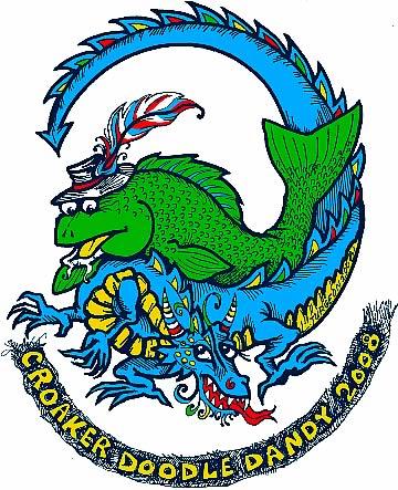 croaker doodle dandy logo 2008